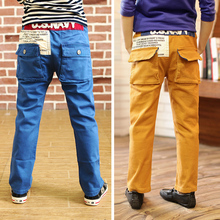 Free shipping spirng/autumn children's clothes Boy's trousers boy's trousers leisure children overalls boy tide trousers(China (Mainland))