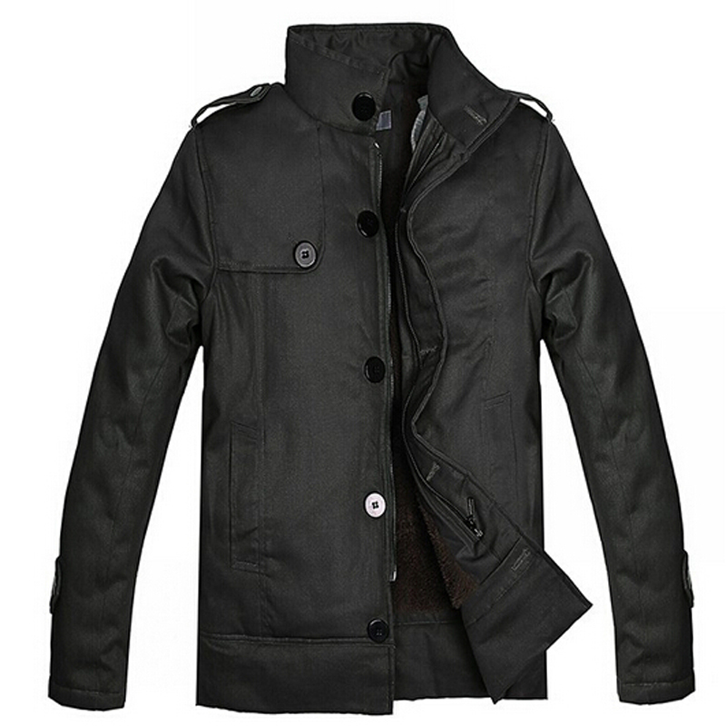 New Winter Coat Men 2015 Autumn Winter Style Men Jacket Coat Korea Style Thicken Cotton Men