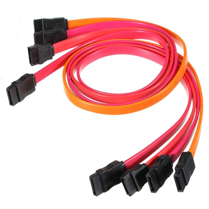 Brand New 50cm Red Serial ATA SATA RAID DATA Hard Disk Drive HDD Cable Connector(China (Mainland))