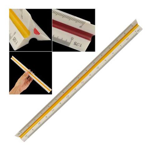 Xmas Plastic Triangular Scale Ruler<br><br>Aliexpress