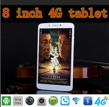 Tablet  PC  8 Inche LTE 3G 4G Octa Core Tablet Android 5.1  2560 * 1600 IPS HD LTE FDD 4GB 8 Core Tablets(China (Mainland))