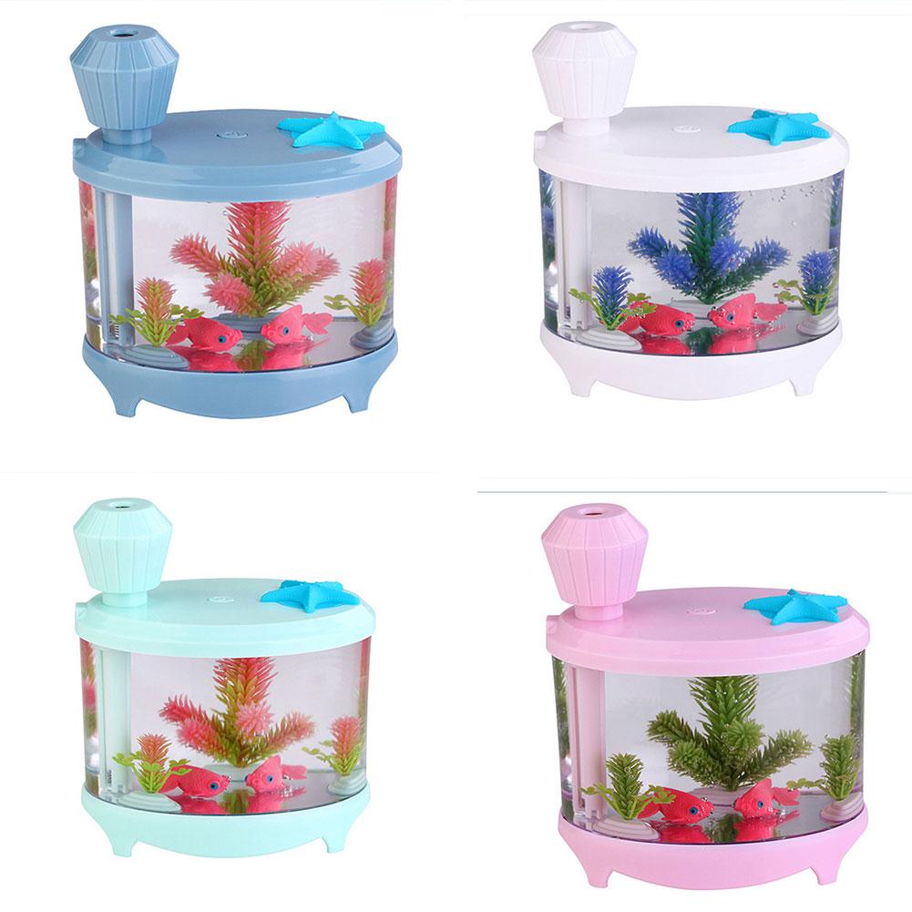 Aquarium fish tank mist maker - Fish Tank Light Humidifier Night Light Air Purifier Misting Maker Aquarium Lamp China Mainland