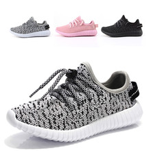 Children Yeezy Shoes for Girls 2017 New Children's Shoes Breathable Summer Sneaker Sports Shoes for Boys Summer Sports Shoes(China (Mainland))