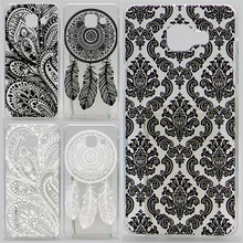 Case For Samsung Galaxy A5 2016 A510 A510F A5100 A5(6) Hollow Out Texture Coloured Drawing Phone Cover Hard Plastic Phone Cases