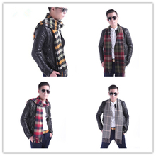 HOT SALE!! New 15 Colors Cashmere Men's tassel British winter scarves and autumn scarf men with colorful plaid SC2038 Soft(China (Mainland))