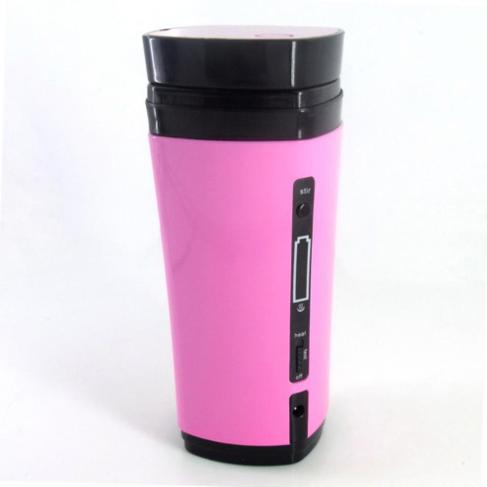 Automatic Stirring USB Power Supply Heated Warmer Coffee Water Drink Cup Beverage Tea Heating Mug 130ml(China (Mainland))