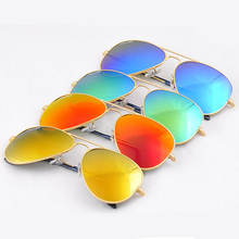 Logo RB 3025 Aviator Sunglasses Vintage Brand Designer Women Men Mirror Sun Glasses Fashion Female Driving