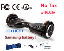 Buy 2 wheel Electric scooter Bluetooth/Remote/Bag Hoverboard Electric Skateboard Standing Drift Board hoverboard for $239.00 in AliExpress store