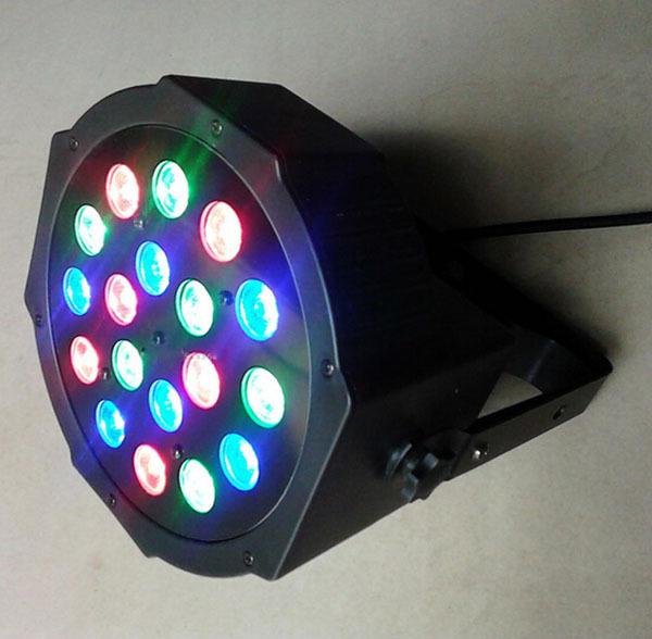 Hot 18*3W Led Stage Light High Power RGB Par DMX512 Master Slave Flat DJ Equipments Controller - Shenzhen dualwin lighting Technology Co., Ltd store