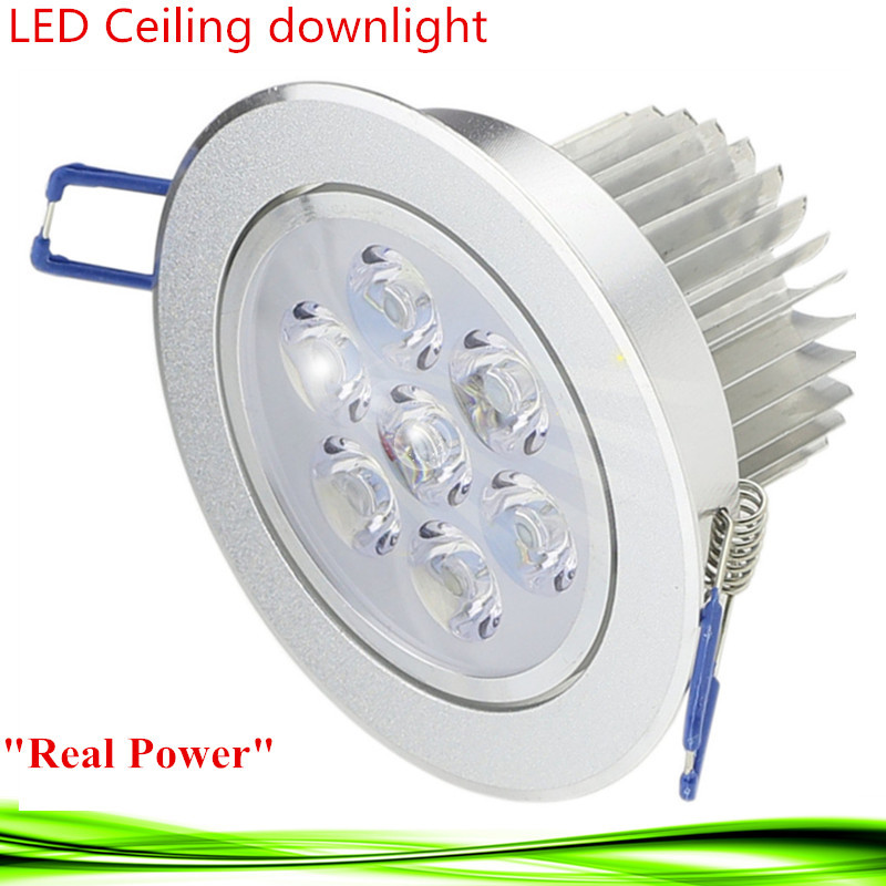 LED downlight 3W 5W 7W 110V 220V dimmable led bulb ceiling lamp Recessed led Spot light for home illumination warm/cold white(China (Mainland))