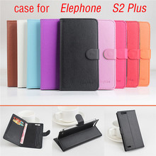 9 Color Lychee Fashion High Quality Elephone S2 PLUS Leather Case Flip Cover for Elephone S 2 PLUS Case mobile Phone Cover Bags