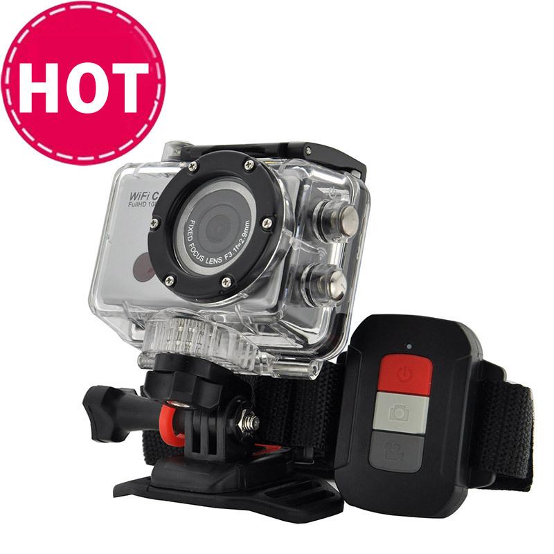 Remote Controller 60M waterproof camera WIFI Action Camera 1080P Sport mini DV - Shenzhen Aitop Co., LTD store