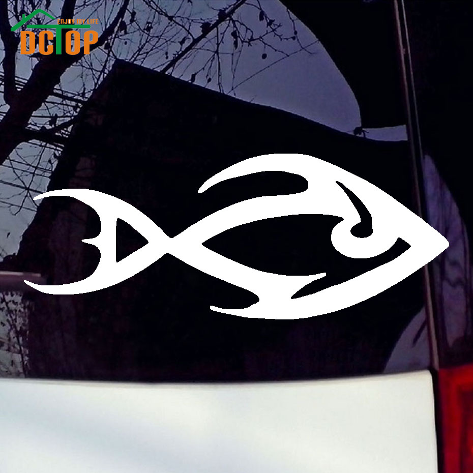 Simple car sticker design - Art Design Of Fish Car Stickers Vinyl Adhesive Removable Window Stickers Animal Car Styling Waterproof Decals