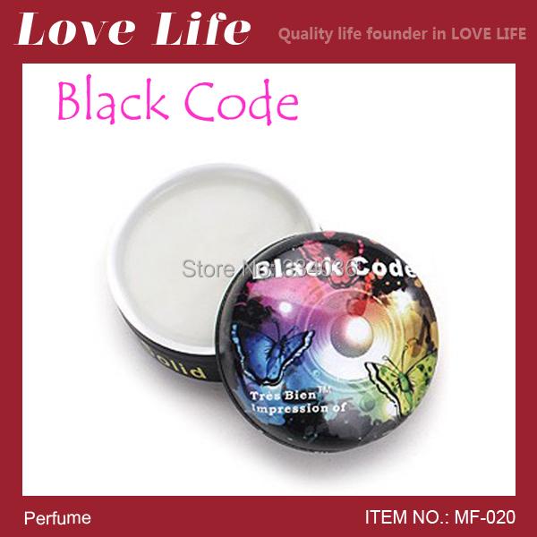 Free shipping!Solid perfume Grasse brands perfumes men Black Code magic original boy hard parfum MF-020(China (Mainland))