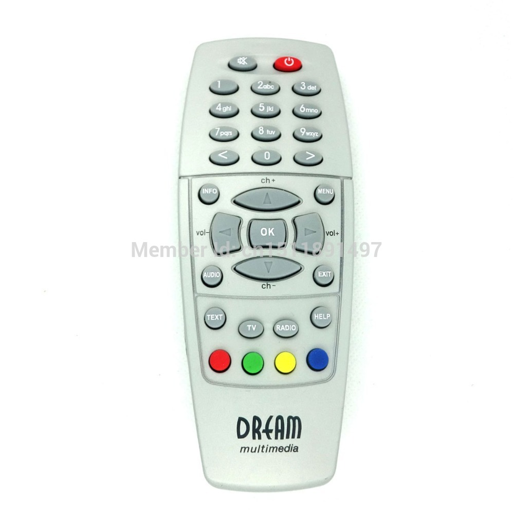 Replacement Remote Controller for Dream box DM500 / DM518 / DM528 - Grey (2 x AAA)(China (Mainland))