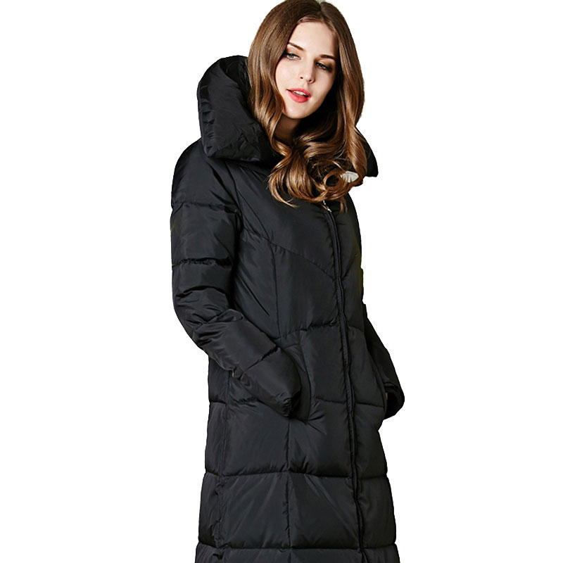 Down Long Winter Coat - Tradingbasis