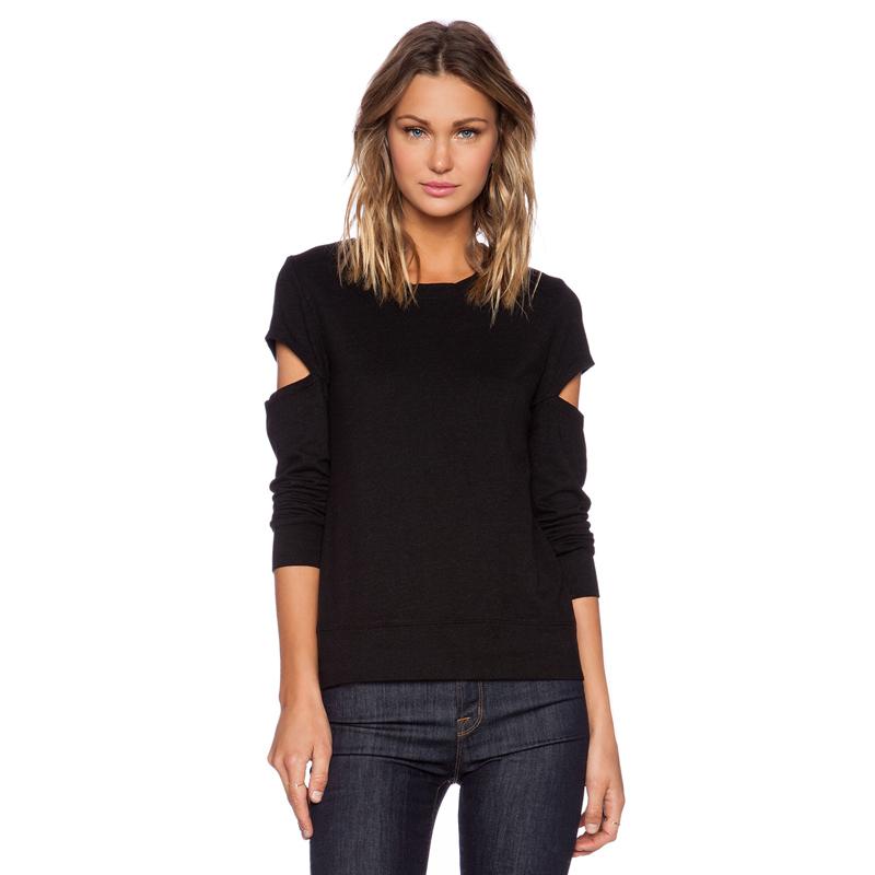 2015 spring summer basic t shirt women tshirt new fashion for Long t shirt trend
