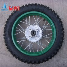 Off-road car tyre small proud 12 14 16 1719 off-road motorcycle rim steel wire(China (Mainland))
