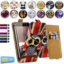 Print Leather Universal Cover For Ulefone be touch 3 /be touch 2 / Umi emax / Jiayu S3 Case Flip Wallet Adjustble Bag Large Size