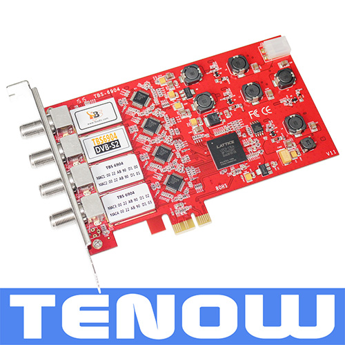 NEW ARRIVAL TBS6904 DVB-S2 Quad Tuner PCIe Card-Watching/recording Multiple Satellite TV Channels on PC Simultaneously(China (Mainland))
