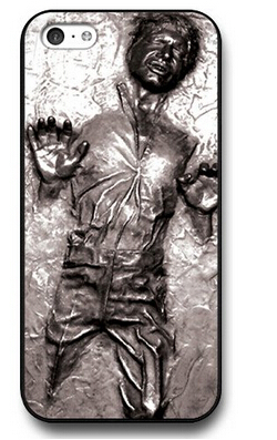 High Quality Luxury Printing Star Wars Han Solo Personalized Hard Phone Cases for iPhone4 4s 5 5s 5c and 6 6 Plus(China (Mainland))