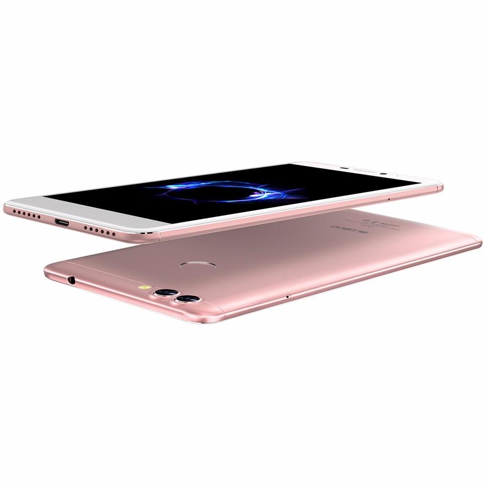 BLUBOO Dual 5.5″ FHD Dual Back Camera 4G LTE Smartphone MTK6737T Quad Core 2G RAM 16G ROM 13MP Android 6.0 3000mAh Mobile Phone