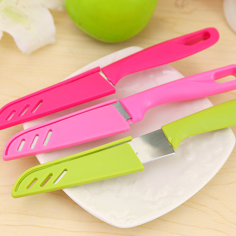 color random mixed fruit peeling knife tool and stainless steel Home Furnishing portable Daotao wholesale
