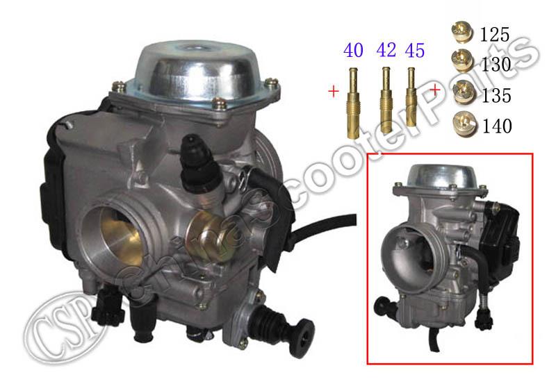 ATV Carb Carburetor TRX 250 300 350 400 450 Main Slow Jet FW Fourtrax Foreman Rancher 1986 - 2005 KAWASAKI(China (Mainland))