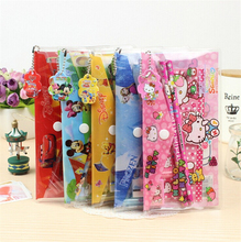 9 In 1 Cute Kawaii Cartoon Hello Kitty Doraemon Stationery Set For Kids Student Gift Novelty School Supply Free Shipping 2201(China (Mainland))