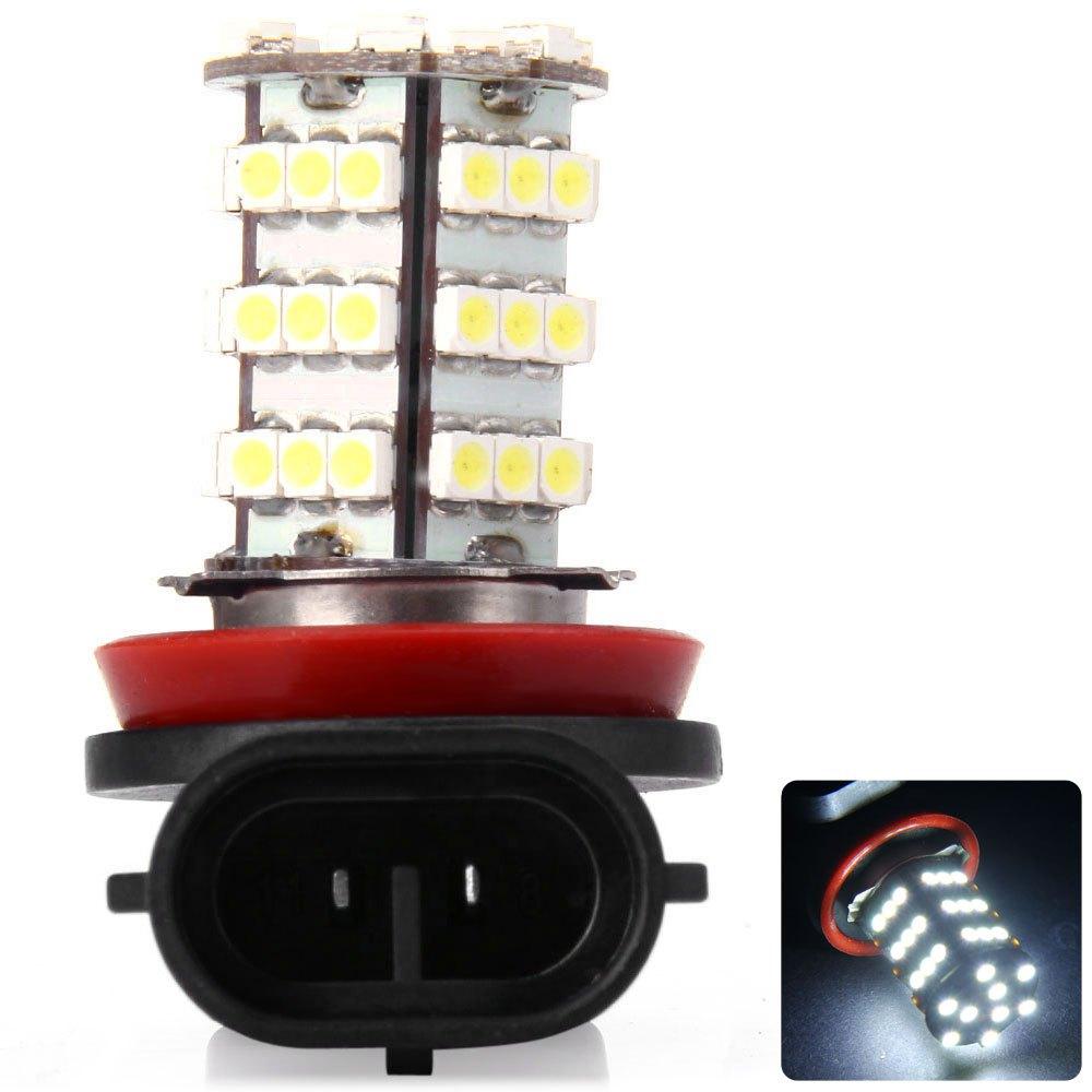 H8 PGJ191 H9 H11 Car Forward Light 4W SMD-3528 54-LEDs Fog Lamp White Light LED Light Bulbs Energy Saving Light Bulb LED 1120764(China (Mainland))