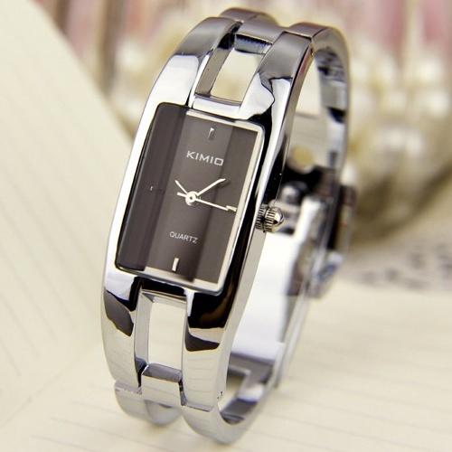 Kimio Fashion Brand Dress Ladies Bracelet Watches for Women Diamond Stainless Stainless steel Quartz Watches Relogio Feminino(China (Mainland))