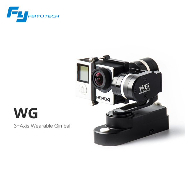 FeiyuTech WG new 3 axis wearable gimbal for Gopro camera