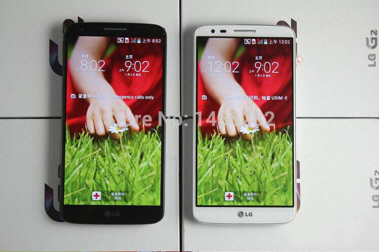 Original LG G2 D802 Unlocked GSM 3G&4G Android Quad-core RAM 2GB 5.2″ 13MP ROM 16GB WIFI GPS Mobile Phone dropshipping