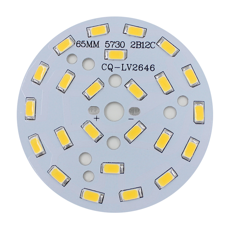 Free Shipping 1pce 3W 5W 7W 9W 12W 15W 18W 24W SMD5730 LED Lamp Panel LED Lamp Board for Ceiling Light and Light Bulbs(China (Mainland))