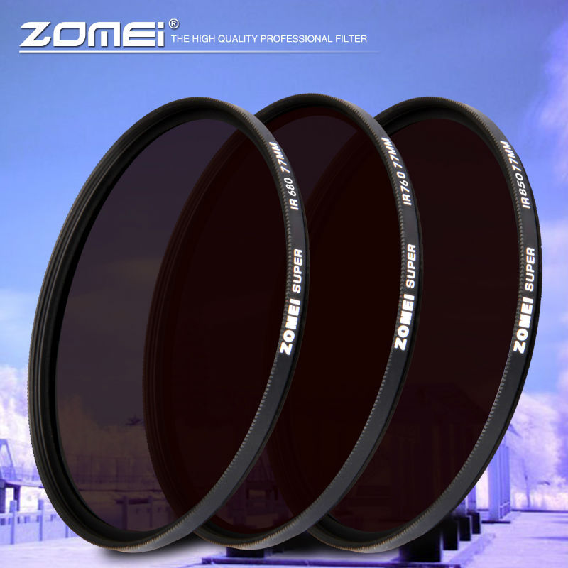 ZOMEI IR 30mm Filter Infrared Infra-Red 3 in1 30mm 680 +760+850(China (Mainland))