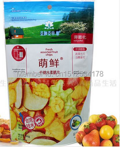 TAIWAN Assorted dried fruit fresh assorted fruit chips 100g