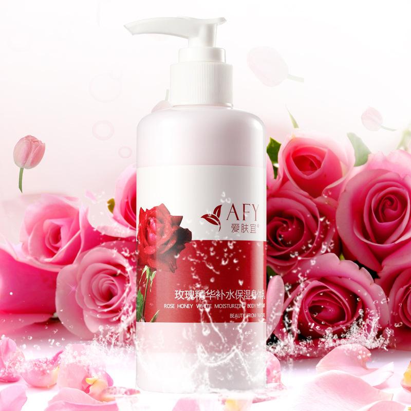 Skin should be the essence of love Rose Moisturizing Body Lotion Moisturizing 250ML freeshipping F6(China (Mainland))