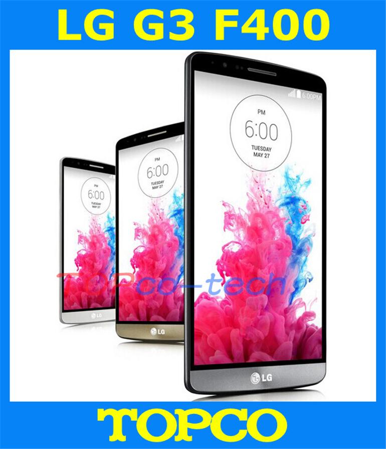 "LG G3 F400 Original Unlocked GSM 3G&4G Android Quad-core RAM 3GB 5.5"" 13MP 32GB WIFI GPS Mobile Phone dropshipping(China (Mainland))"