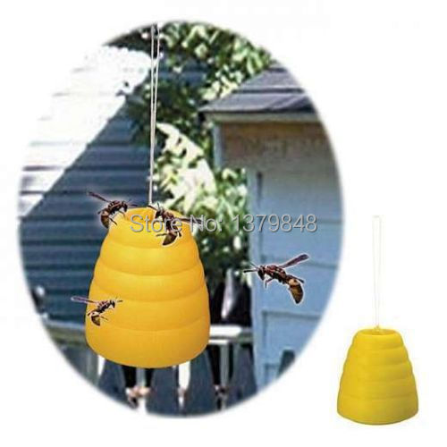 Bee Wasp Yellow Jacket Hornet BeeHive Trap Catcher Trapper Table or Hang(China (Mainland))