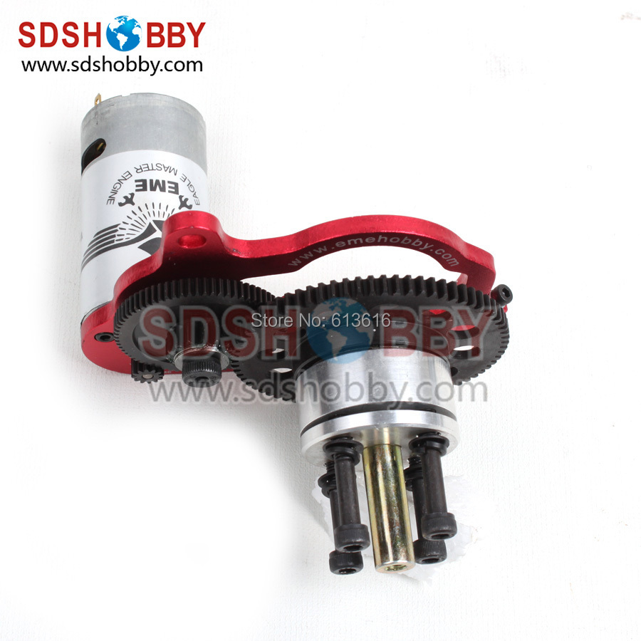55/60cc AS KIT / Special Electric Starter with JOHNSON 550A Brushed Motor for EME55/ EME55-II /EME60 Gas Engine(China (Mainland))