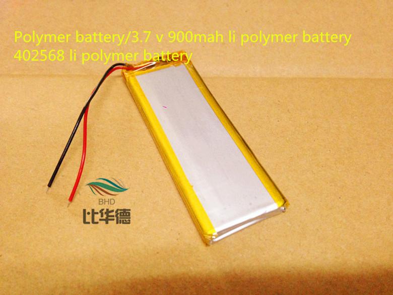 Polymer battery/ deep cycle 3.7 v 900mah li polymer battery 402568 li polymer battery
