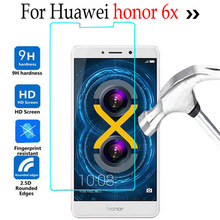 Buy Huawei Honor 6 X Tempered Glass Screen Protector Huawei honor 6x Glass Cover 9H Toughened Protective Film Case for $1.17 in AliExpress store