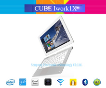 Cube iwork1X 2 in 1 Windows10+Android 5.1 Dual OS Tablet PC 11.6'' IPS 1920x1080 Intel Atom X5-Z8350 Quad Core 4GB RAM 64GB ROM