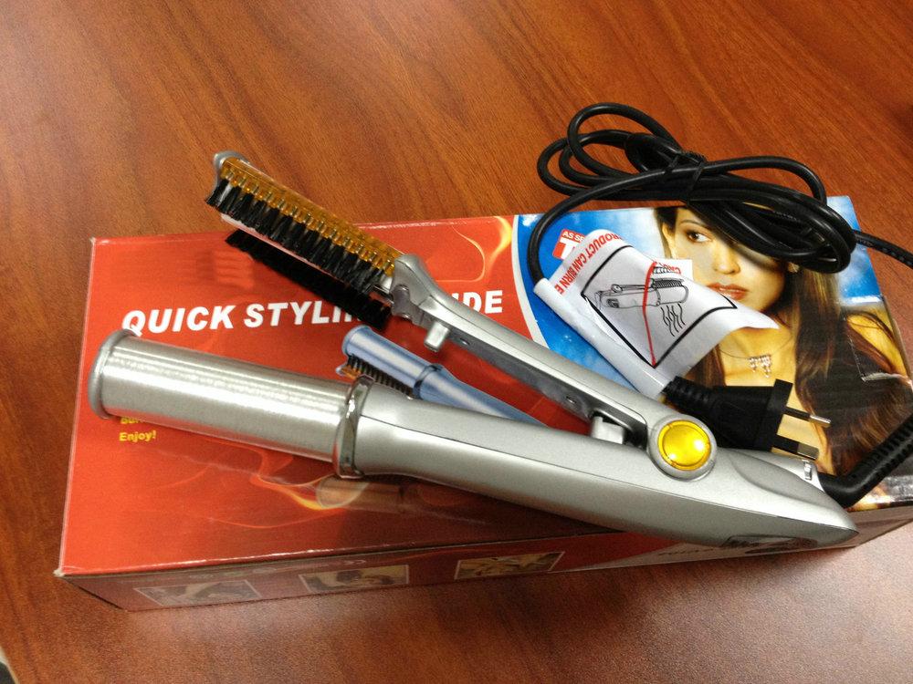 Factory wholesale hair stick automatic straightener hair artifact magic stick electric straight splint clip<br><br>Aliexpress