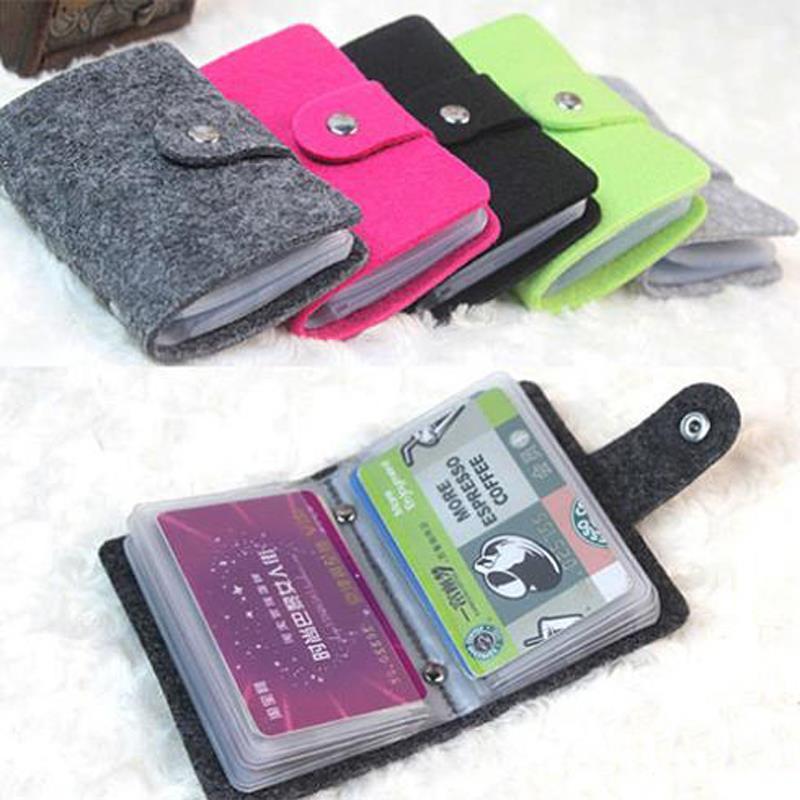 New Vintage Womens Men 24Cards Pouch PU Leather Business Credit Card Cover Holder Organizer Pocket Wallet<br><br>Aliexpress