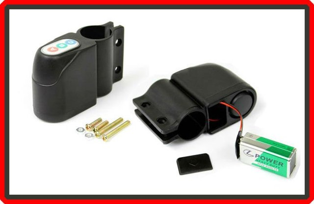 Free Shipping Bicycle Bike Security Alarm Audible Sound Lock (MBBG026) !!
