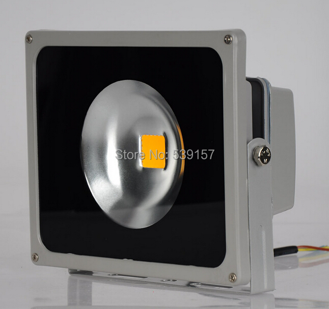 Wholesale 30W LED Flood Light Outdoor Floodlights Warm / Cool White RGB Red Green Yellow Blue AC85~265V 10PCS/LOT(China (Mainland))