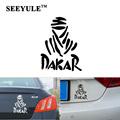1pc SEEYULE Dakar Rally Car Sticker 11cmx11cm car styling Reflective decal for Renault VW Honda all