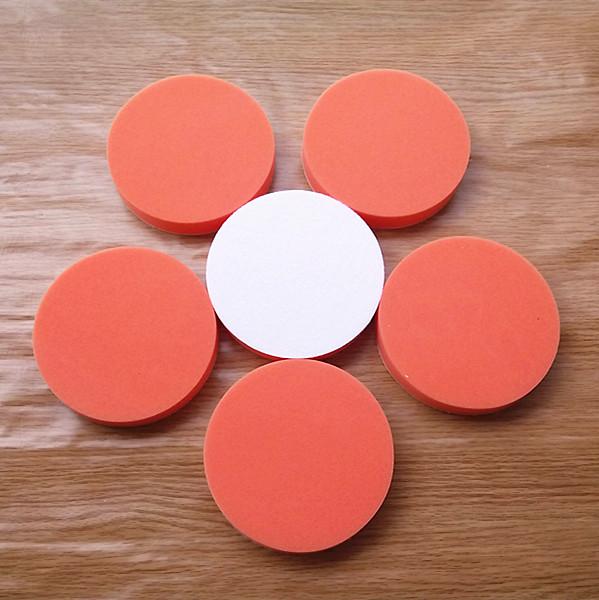"6PC 150mm Gross Polishing Buffing Pad 6"" flat High sponge Car Polisher Buffer pads Clean waxing Auto paint maintenance care(China (Mainland))"