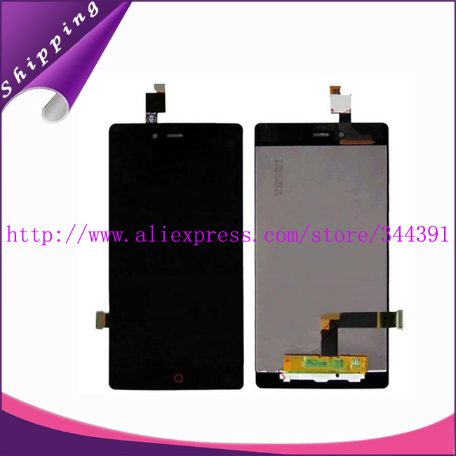 10pcs/lot 100%tested Original Lcd Display+Touch Screen Digitizer Assembly for ZTE Nubia Z9 mini NX511J Lcd Free shipping by DHL